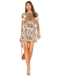Free People - Lady Luck Tunic In Ivory - Lyst