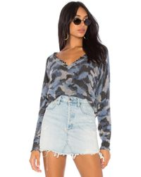 27milesmalibu - Myrtle Sweater In Blue - Lyst