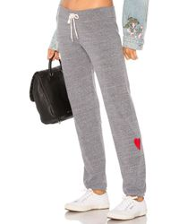 Monrow - Love Vintage Sweatpants In Gray - Lyst