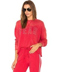 Year Of Ours - Team Sweatshirt In Red - Lyst