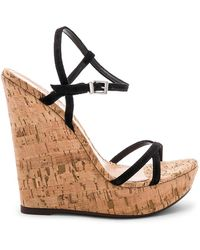 Schutz - Auria Wedge In Black - Lyst