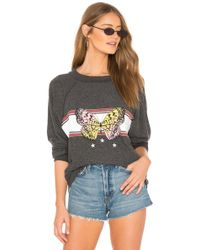 Wildfox - Papillon Sommers Sweater In Black - Lyst