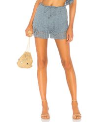 Tularosa - Willow Shorts In Blue - Lyst