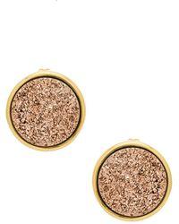 Gorjana - Astoria Large Studs In Metallic Gold. - Lyst