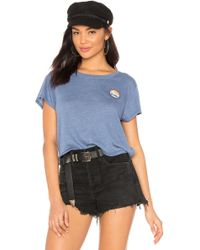 Spiritual Gangster - Grateful Venice Tee In Blue - Lyst