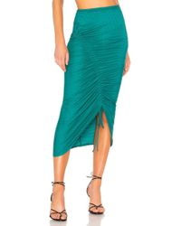 House of Harlow 1960 - X Revolve Rema Skirt In Turquoise - Lyst