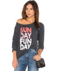 Chaser - Sunday Funday Sweatshirt - Lyst