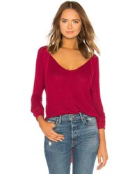 Free People - Catalina Thermal In Red - Lyst