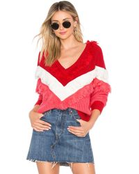 bd38fd64ea Lyst - Urban Outfitters Uo Nikki Snap-button Cardigan - Womens S in Red