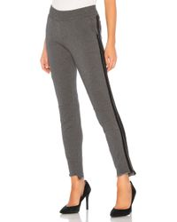 Generation Love - Bruno Stripe Pant In Charcoal - Lyst