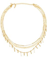 Rebecca Minkoff - Layered Necklace - Lyst