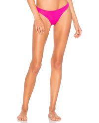 Mara Hoffman - Kay Bikini Bottom In Fuchsia - Lyst