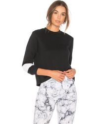 Onzie - Blocked Sweatshirt - Lyst