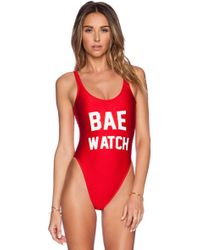 Private Party - Bae Watch Swimsuit - Lyst