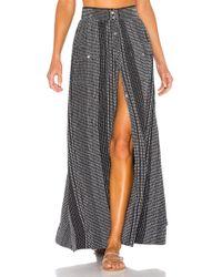 X 1960 Harlow Skirt Black In House Lyric Of Revolve Lyst 3uKcT1JlF