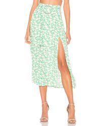 Capulet - Savannah Belted Midi Skirt - Lyst