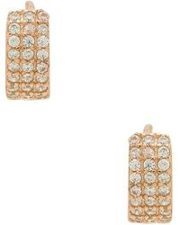 Shashi - Lara Huggie Earrings - Lyst
