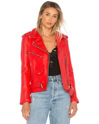 Urban Outfitters - X Revolve Easy Rider Jacket In Red - Lyst