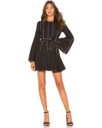 Tularosa - Nicole Dress In Black & White - Lyst