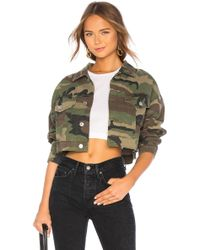 RE/DONE - Originals Camo Jacket In Army - Lyst