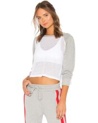 Year Of Ours - Summer Sweatshirt In Gray - Lyst