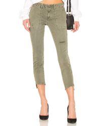 Pam & Gela - Uniform Side Stripe Step Hem In Green - Lyst