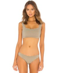 Marysia Swim - Palm Springs Top In Olive - Lyst