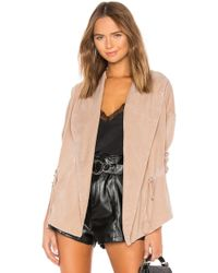 Young Fabulous & Broke - Paco Jacket In Taupe - Lyst