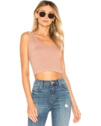 Free People - Solid Rib Brami - Lyst