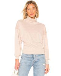 Free People - Glam Turtleneck Sweater - Lyst
