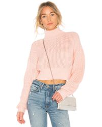 Lovers + Friends - X Revolve Union Sweater In Pink - Lyst