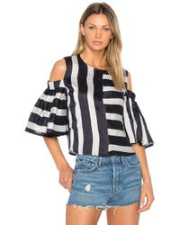 Frankie - Cold Shoulder Blouse - Lyst