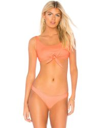 Pilyq - Knot Halter In Orange - Lyst
