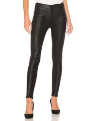 J Brand - Maria High Rise Skinny In Black - Lyst