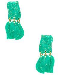 Lele Sadoughi - Iris Petal Drop Earrings - Lyst