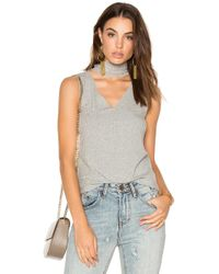 LNA - Sleeveless Detached Turtleneck - Lyst
