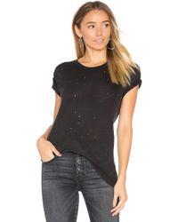 IRO - Clay Tee In Black - Lyst