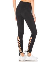 Onzie - Laced Up Legging - Lyst