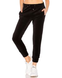 Alala - Velour Jogger In Black - Lyst