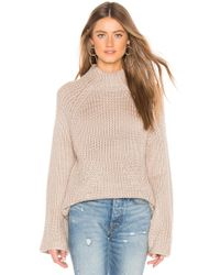 Tularosa - Raena Sweater In Beige - Lyst