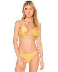 MINKPINK - Arabella Bikini Top - Lyst