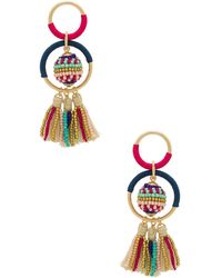 Rebecca Minkoff - Blair Beaded Ball Earrings - Lyst