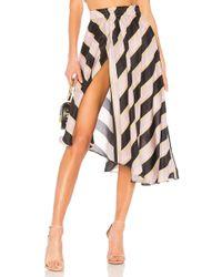 Apiece Apart - Turkanna Skirt In Purple - Lyst