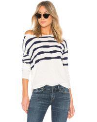Splendid - Las Olas Sweater In White - Lyst