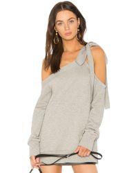 Goen.J - Bow Shoulder Sweater - Lyst