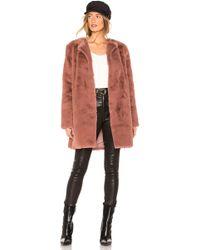 BB Dakota - Love You Furever Faux Fur Coat - Lyst