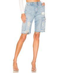 Hudson Jeans - Jane Relaxed Cargo Short - Lyst