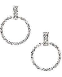 Frasier Sterling - La Nights Earrings In Metallic Silver. - Lyst