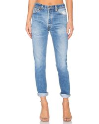 RE/DONE - Levis High Rise - Lyst
