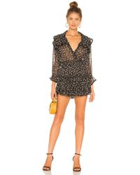 MISA - Vittoria Mini Dress - Lyst